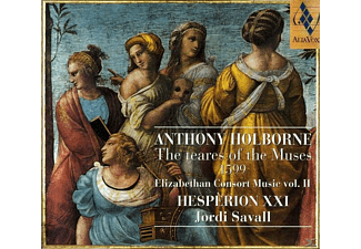 Hesperion Xxi - ANTHONY HOLBORNE-THE TEARES - (CD)