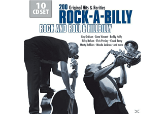 Orbison,Roy/Holly,Buddy/Presley,Elvis/+ - Rock-A-Billy: Rock And Roll & Hillibilly [CD]