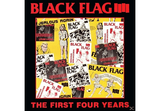 Black Flag - The First Four Years - (CD)