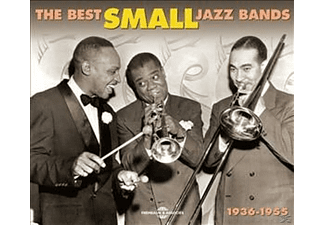 VARIOUS, Waller,Fats/Smith,Stuff/Kirby,John/+ - The Best Small Jazz Bands 1936-1955 - (CD)