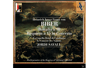 La Capella Reial De Catalunya - Battalia A 10/Requiem A 15... - (CD)