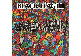 Black Flag - Wasted Again - (CD)