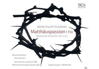 VARIOUS, Pal Nemeth, Kammerchor Cantamus Halle - Matthauspassion 1754 - (CD)