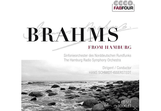 Johannes Brahms - Brahms From Hamburg [CD]