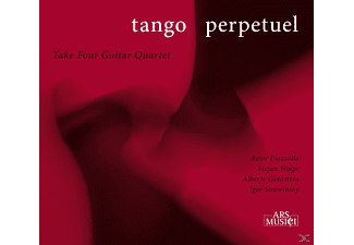 Take Four Guitar Quartet - Tango Perpetuel - (CD)