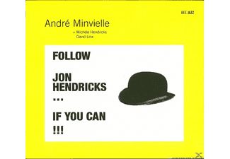 André Minvielle - Follow Jon Hendricks... If You Can!!! - (CD)