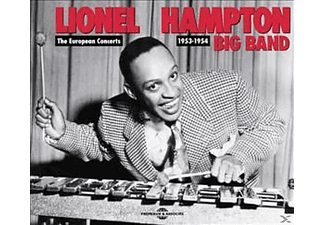 Lionel Hampton - The European Concerts 1953-1954 - (CD)
