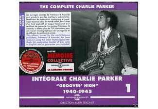 VARIOUS, Charlie Parker - Groovin' High-The Complete Vol.1 1940-1945 - (CD)