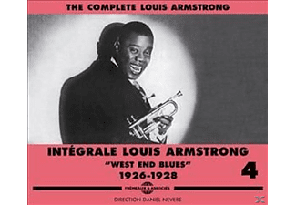 Louis Armstrong - West End Blues-The Complete Vol.4 1926-1928 - (CD)