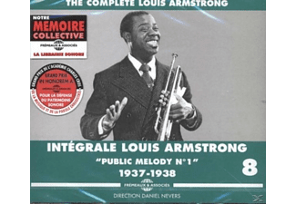Louis Armstrong - Public Melody No 1 The Complete Vol.8 1937-1938 - (CD)