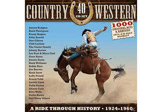 VARIOUS - Country & Western-A Ride Through History 1924-60 - (CD)