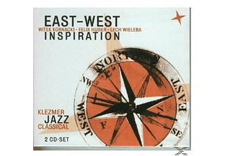 East West Inspiration - Klezmer Jazz Classical - (CD)