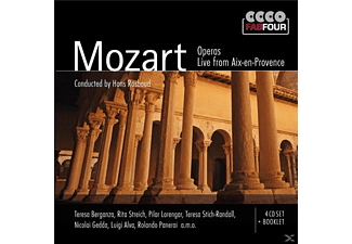 Various;Berganza;Rosbaud;Streich;Gedda;Panerai - Mozart Operas-Live From Aix-En-Provence - (CD)