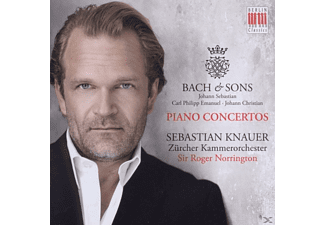 Sebastian Knauer - Bach & Sons - (CD)
