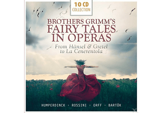 Karajan/Fricsay/Anders/Schwarzkopf/Prey/+ - Brother Grimm's Fairy Tales In Operas [CD]