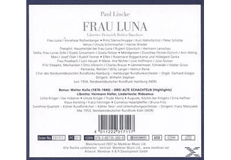Various, Heuser, Hoffmann, Rothenberger.., Wilhelm Stephan - Paul Lincke-Frau Luna - (CD)