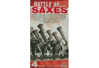 Various - Battle Of Saxes 1 (Various) [CD]