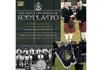 Trays Drumfries & Galloway Constabulary Pipe Band - The Police Pipe Bands Of Scotland [CD]