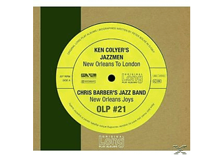 Colyer S Jazzmen;Colyer, Ken & Barber, Chris - New Orleans To London - (CD)