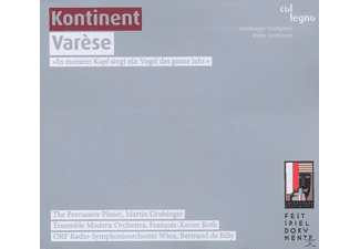 VARIOUS, Grubinger, Percussive Planet Ensemble - Kontinent Varese - (CD)
