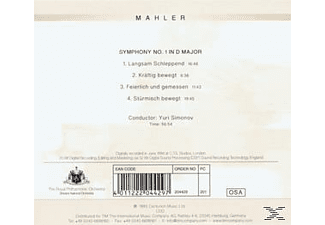 Rpo;Royal Philharmonic Orchestra - Sinfonie 1 I D Major - (CD)