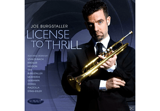 Joe Burgstaller - License To Thrill - (CD)