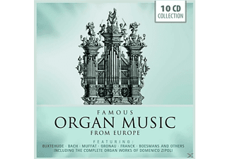 Vogel/Radulescu/Ghielmi/Sluys/+ - Famous Organ Music From Europe [CD]