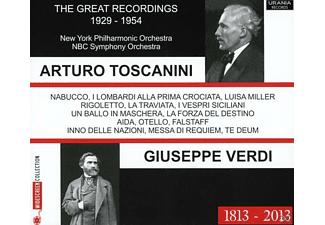 New York Philharmonic Orchestra - A, Toscanini/NBC SO/New York Philharmonic - Toscanini dirigiert Verdi - (CD)
