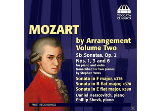 Herscovitch,Daniel/Shovk,Phillip - Mozart by Arrangement Vol.2 - (CD)