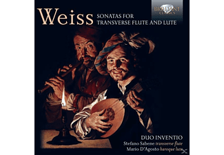 Duo Inventio - Sonatas For Transverse Flute And Lute - (CD)