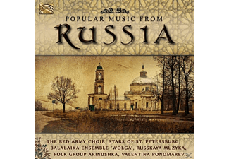 VARIOUS - Popular Music From Russia [CD]