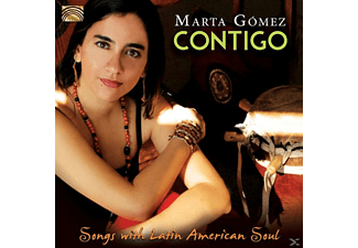 Marta Gomez - Contigo-Songs With Latin American Soul [CD]