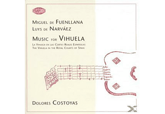 Dolores Costoyas - Music For Vihuela - (CD)