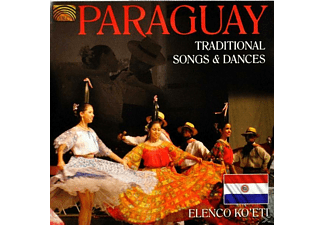 Elenco Ko'eti - Paraguay-Traditional Songs & Dances [CD]