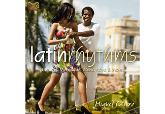 Miguel Castro - Latin Rhythms-Cumbia, Mrenegue, Bossa Nova & More [CD]