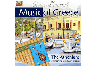 The Athenians - Canto General-Music Of Greece [CD]