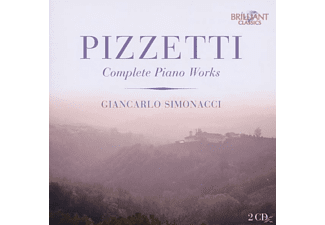 Giancarlo Simonacci - Complete Piano Works - (CD)