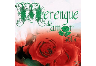 VARIOUS - Merengue De Amor Vol. 4 - (CD)