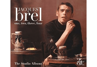Jacques Brel - One, Two, Three, Four-Studio Album - (CD)