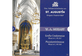 ST.AUGUSTIN, CHOR & ORCH., Wolf/Solisten,Chor,Orch.St.A - Missa In C KV 257/+ - (CD)