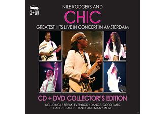 Nile Rodgers, Chic - GREATEST HITS LIVE IN CONCERT IN AM - (CD + DVD)