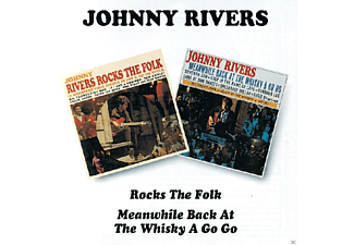 Johnny Rivers - Rocks The Folk / Meanwhile Back At The Whisky A Gogo - (CD)