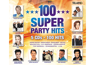 Various - 100 Super Party Hits [CD]