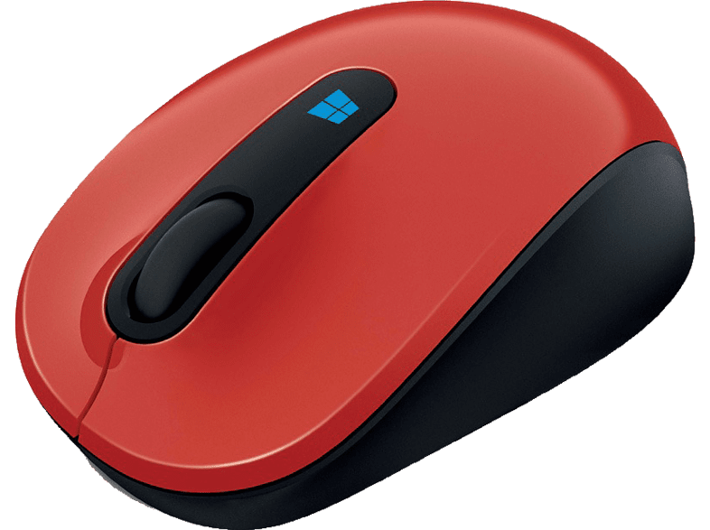 MICROSOFT Sculpt Mobile Mouse Red - (43U-00026) laptop  tablet  computing  περιφερειακά πληκτρολόγια   ποντίκια  computing   tab