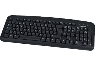 "HAMA ""K212"" Basic Keyboard, black - (00057209)"