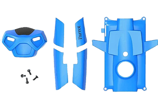 PARROT Covers + screws for Rolling Spider Blue - (PF070075AA)