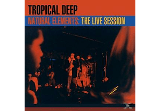 Tropical Deep - Natural Elements-Live Session - (CD)