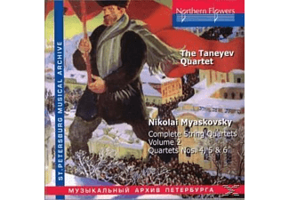 Josef Levinzon, Taneyev Quartet - String Quartets Vol.2 - (CD)