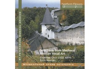 Lege Artis, Abalian/Chamber Choir Lege Artis - Selections from medieval Russian Vocal Art - (CD)