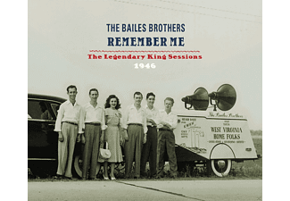 Bailes Brothers - Remember Me - (CD)